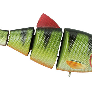 "SPRO BBZ-1 shad 4"" Green Perch"
