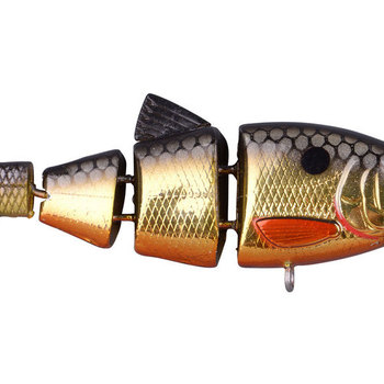 "SPRO Swimbait BBZ-1 2.5"" Crank-N-Swim Metallic Gold Shad"