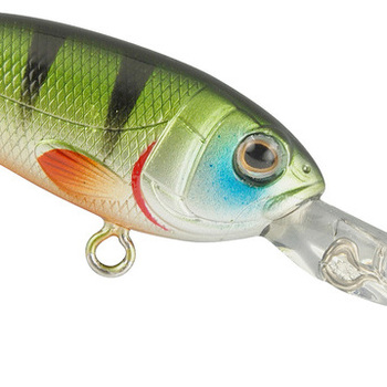 SPRO Chibi Shad 40 LL Green Perch