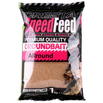 Cresta SpeedFeed Groundbait - ALLROUND 1kg