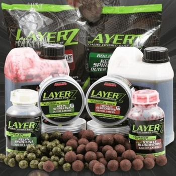 Starbaits Layerz Coated boilie Bloodworm 14mm 800gr